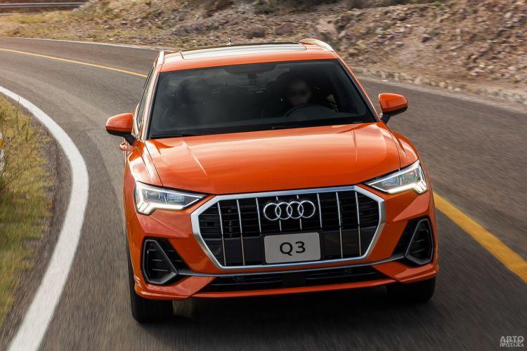 Audi Q3, BMW X1 и Mercedes-Benz GLB: премиум-вседорожники в компактном формате