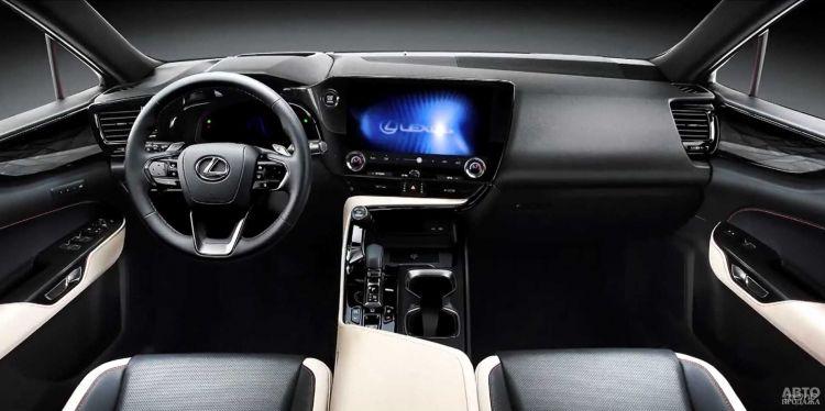 Первые фото нового Lexus NX