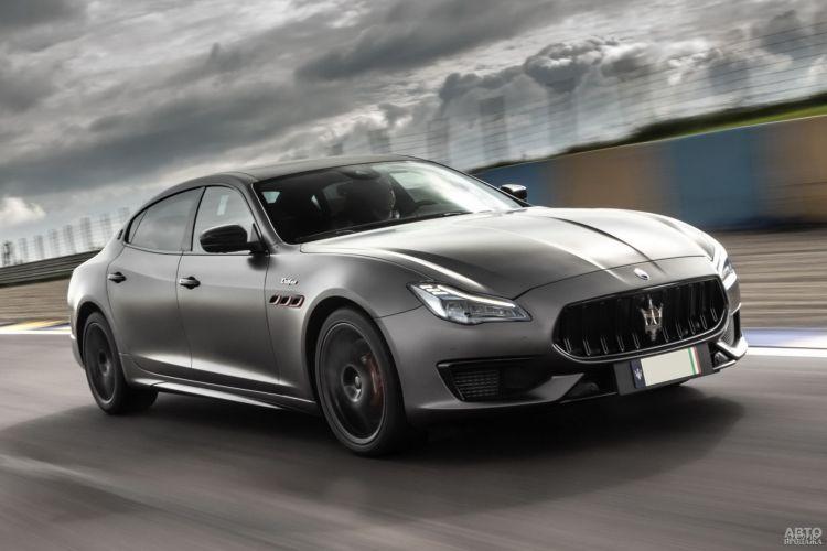 Maserati Quattroporte Trofeo: быстрый и роскошный