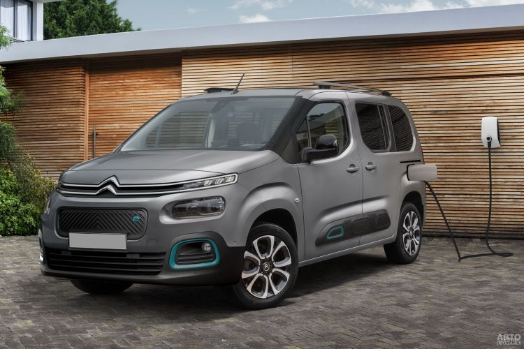 Citroen e-Berlingo: практичный электромобиль