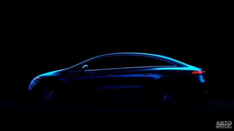 Электромобиль Mercedes-Benz EQS показали на официальном фото