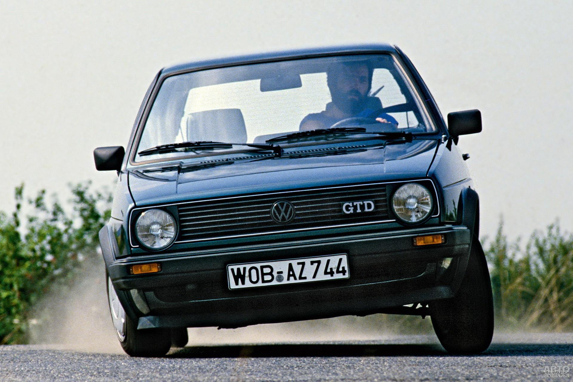 Дизельный Volkswagen Golf GTD 1985 года
