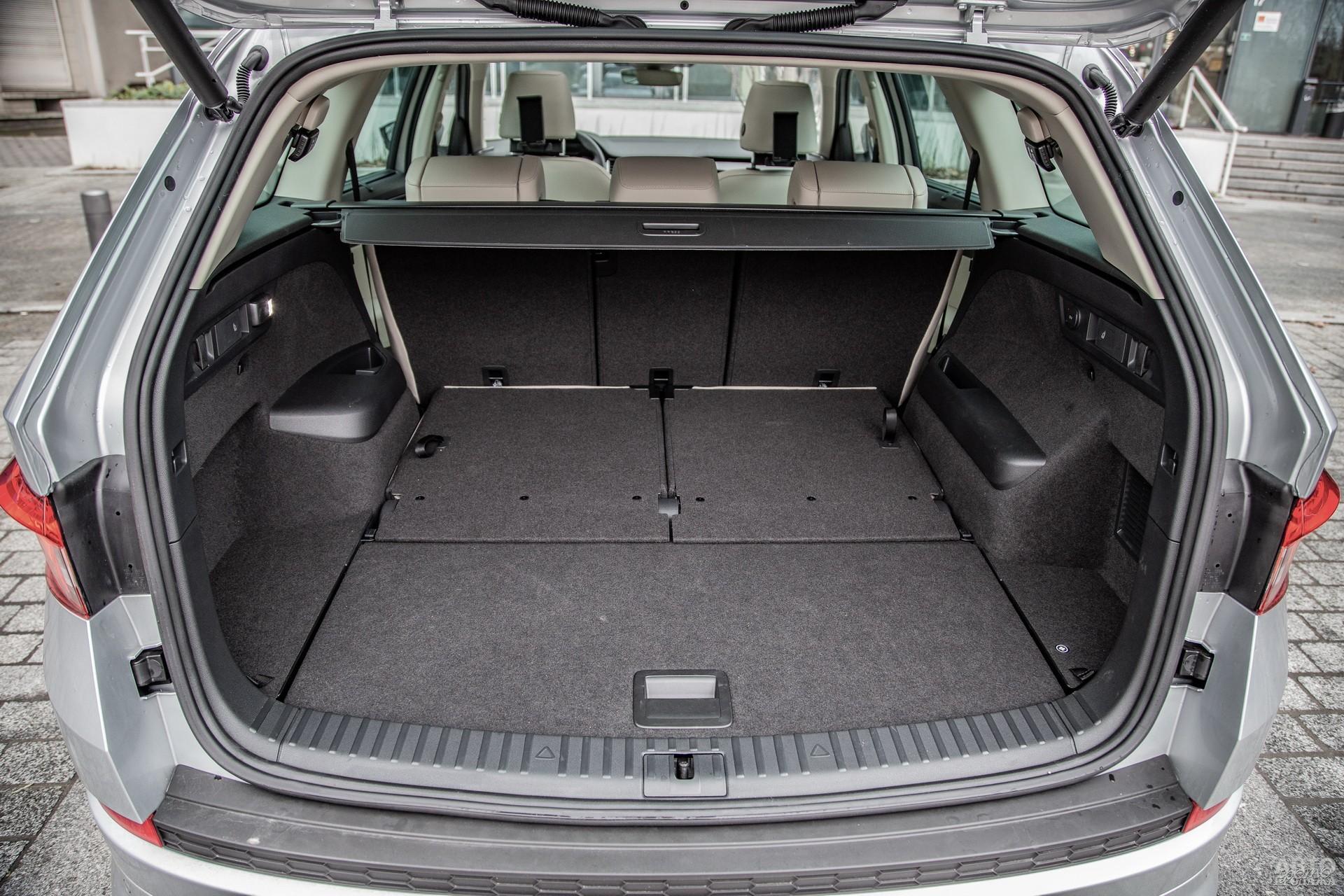 Багажник Skodа самый вместительный – 270-2065 л
