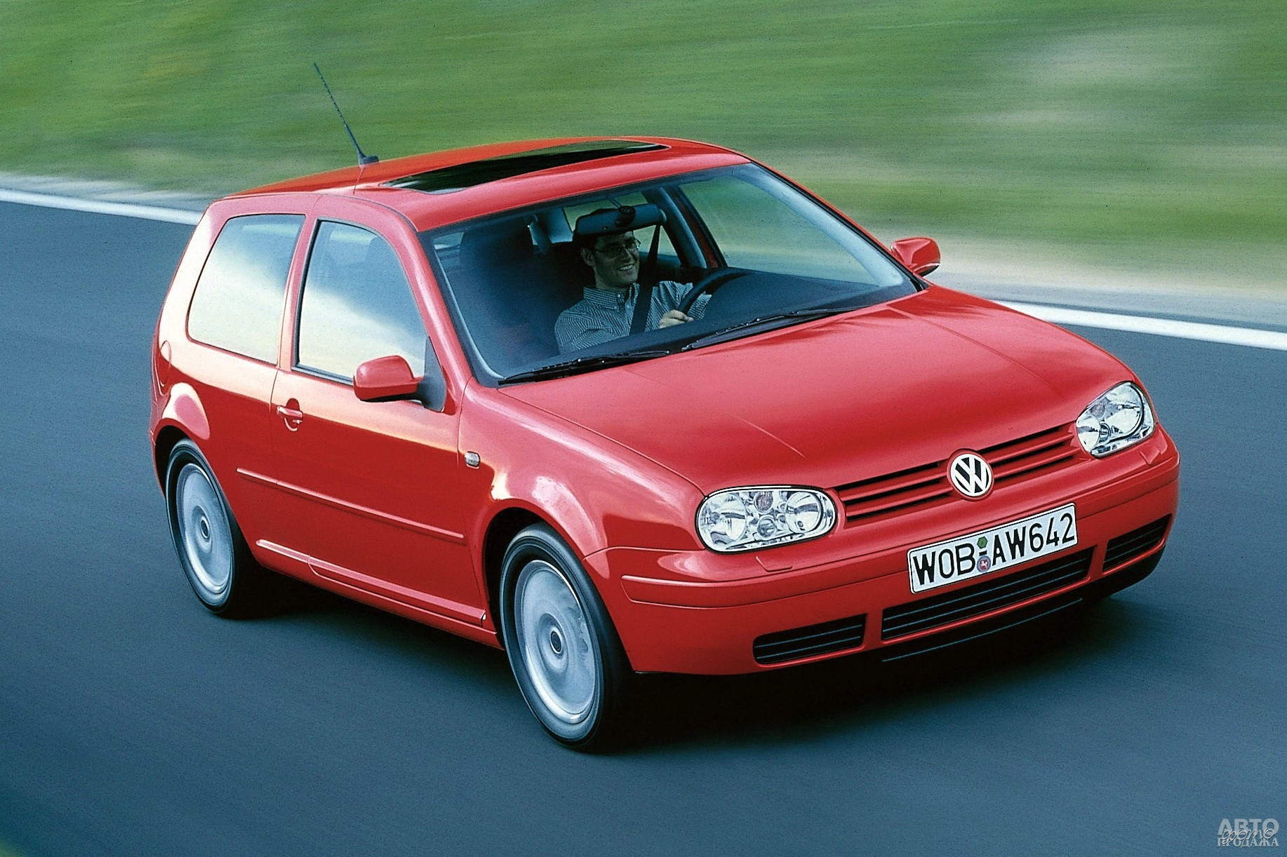 Volkswagen Golf IV GTI, 2001 год