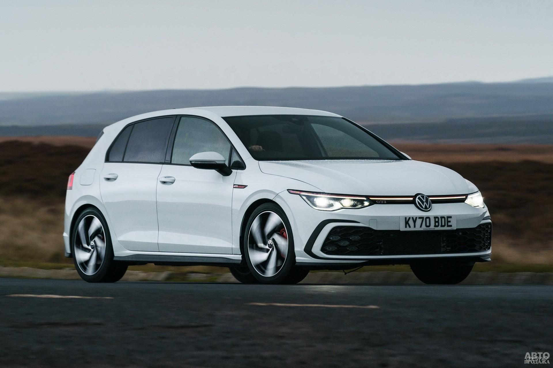 Volkswagen Golf VIII GTI 2020 года