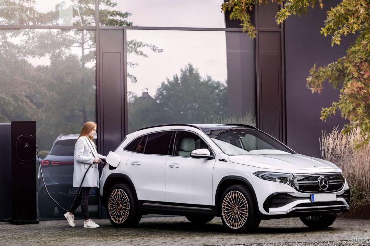 Mercedes-Benz EQA: электрический брат GLA