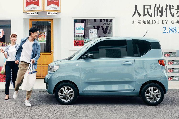 Wuling Hong Guang Mini EV: неожиданный лидер в классе