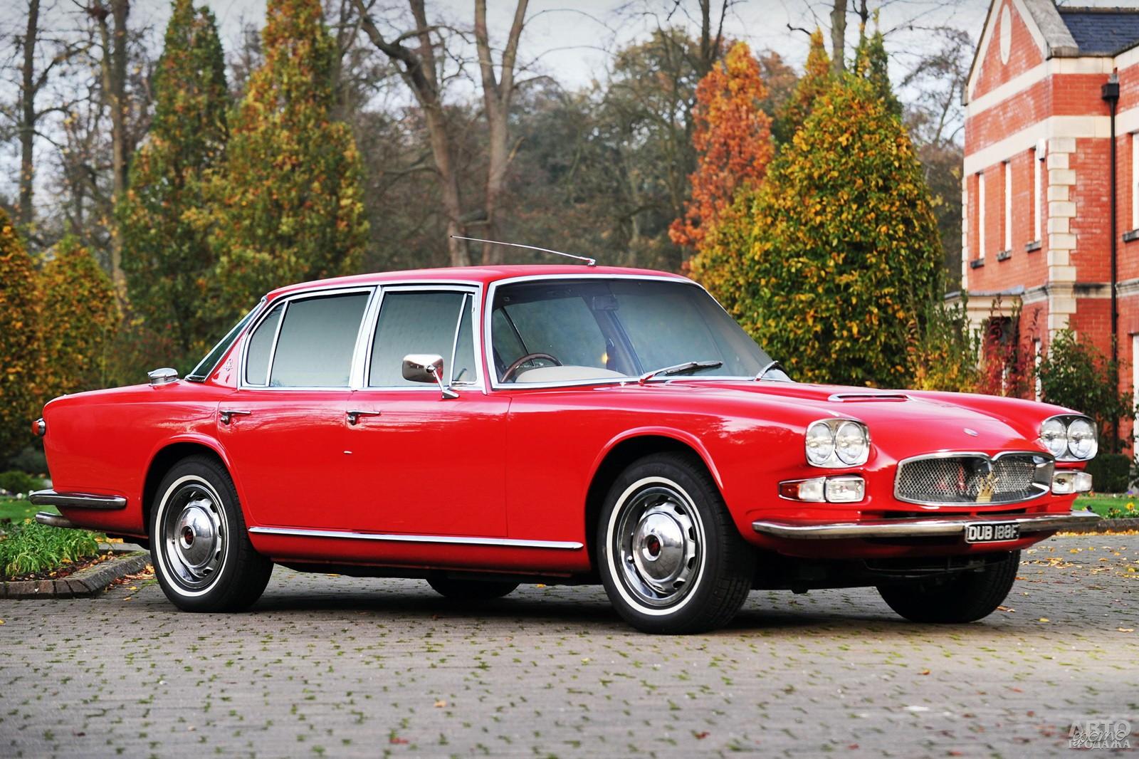 Mаserati Quattroporte 1966 года с более мощным 4,7-литровым V8