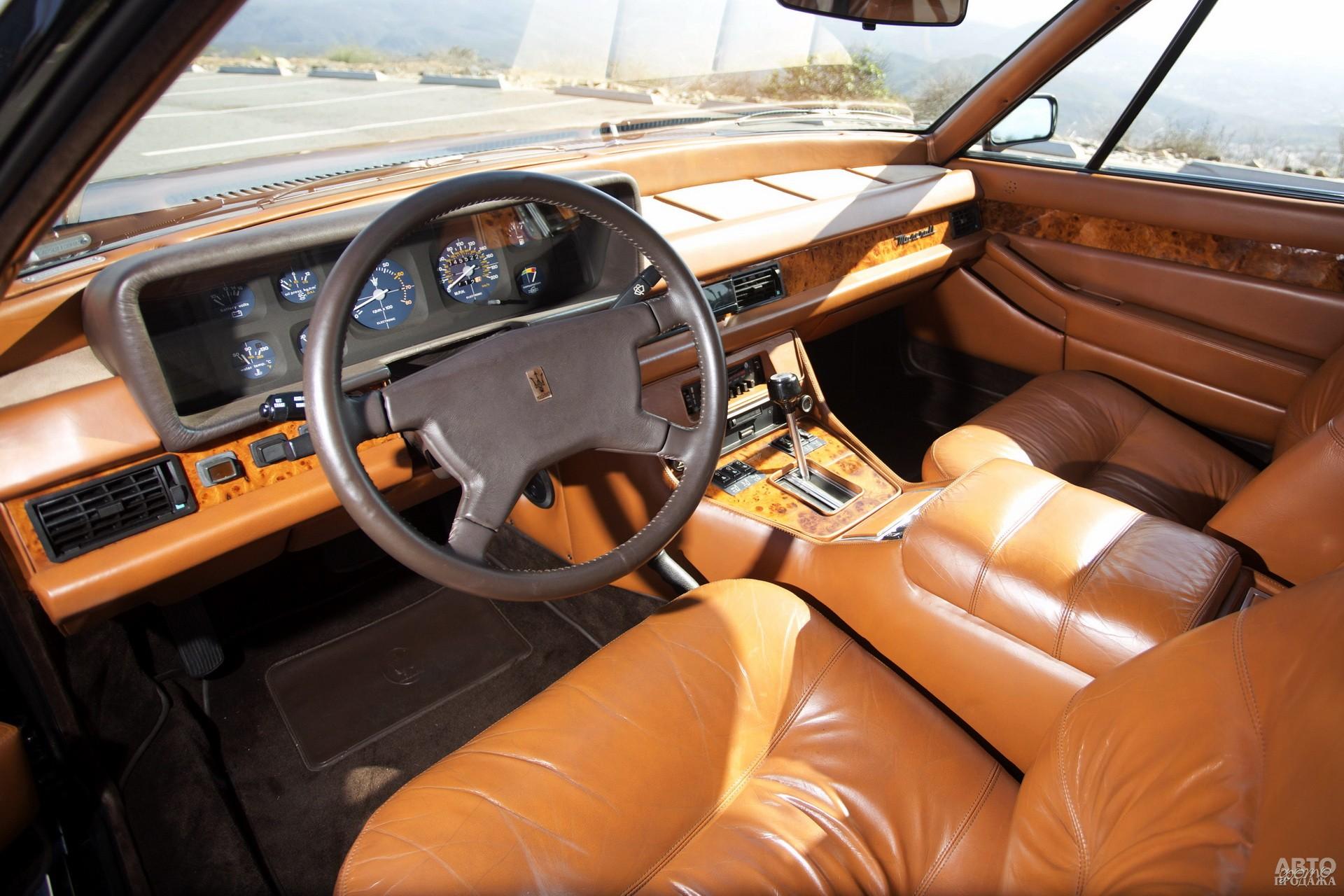 В салоне Quattroporte III преобладал рубленный стиль