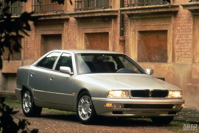 Mаserati Quattroporte 1994 года стал компактнее и получил двигатели с турбонаддувом