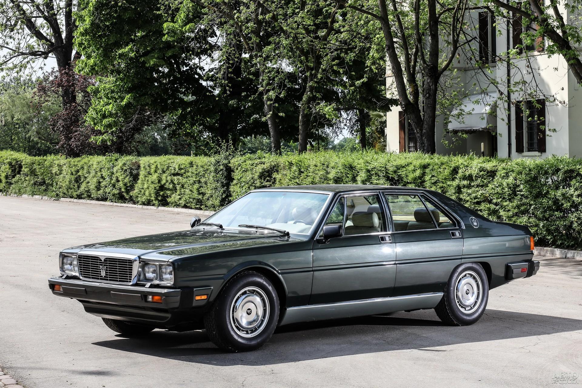 Удлиненная роскошная версия Quattroporte Royal