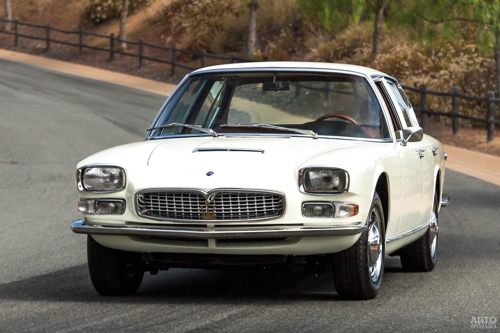 Первый Mаserati Quattroporte 1963 года