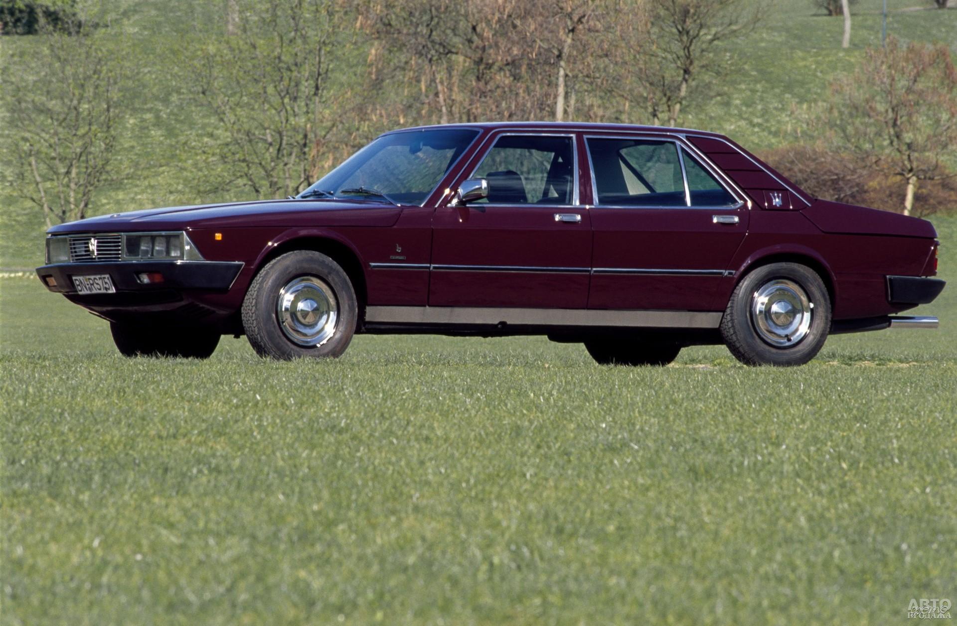 Переднеприводный Mаserati Quattroporte ІІ 1974 года