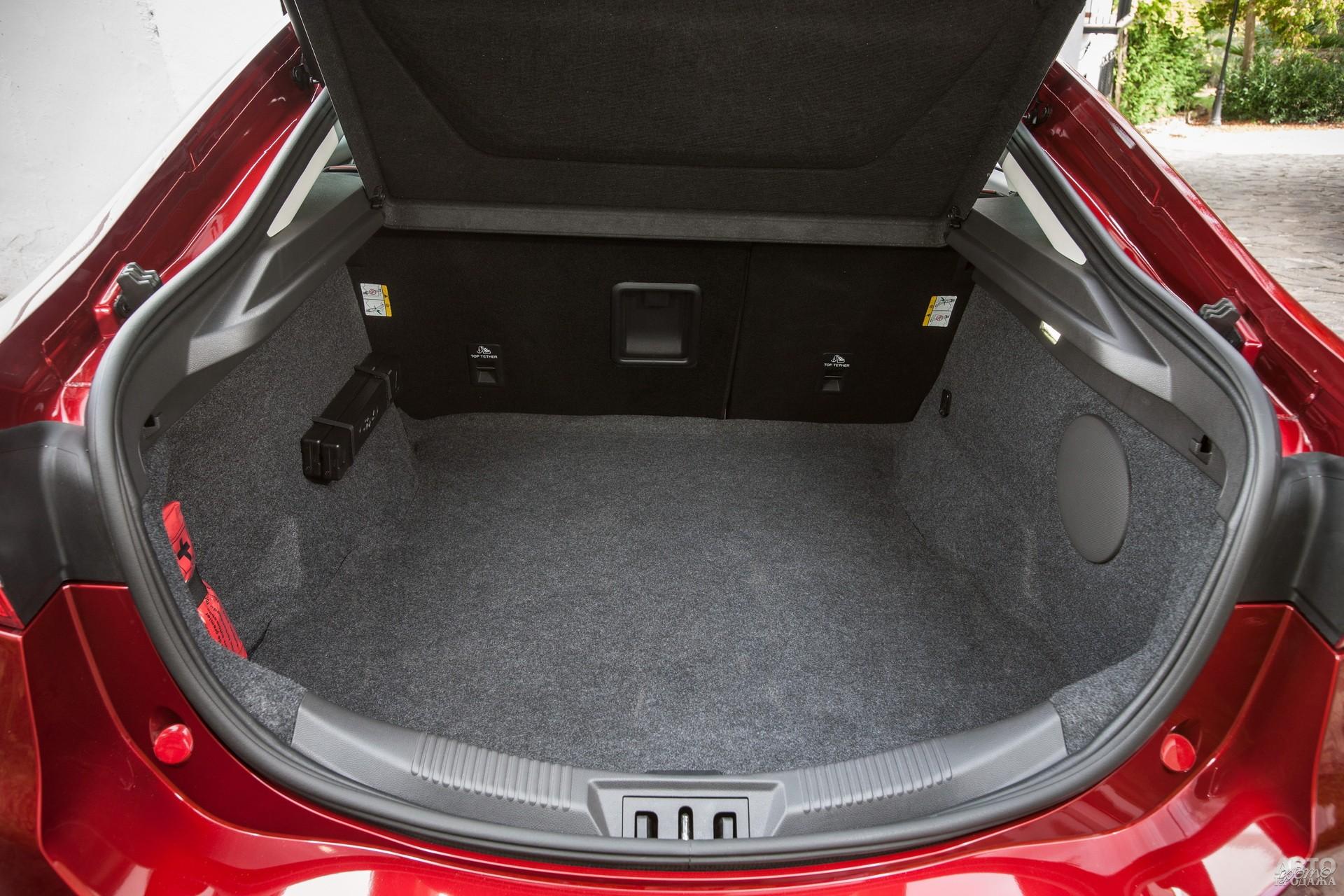 Багажник Fоrd самый вместительный – 645 л