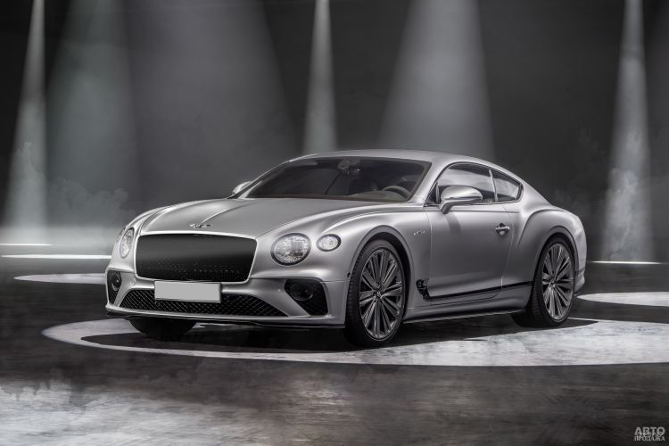 Bentley Continental GT Speed: прибавка в мощности