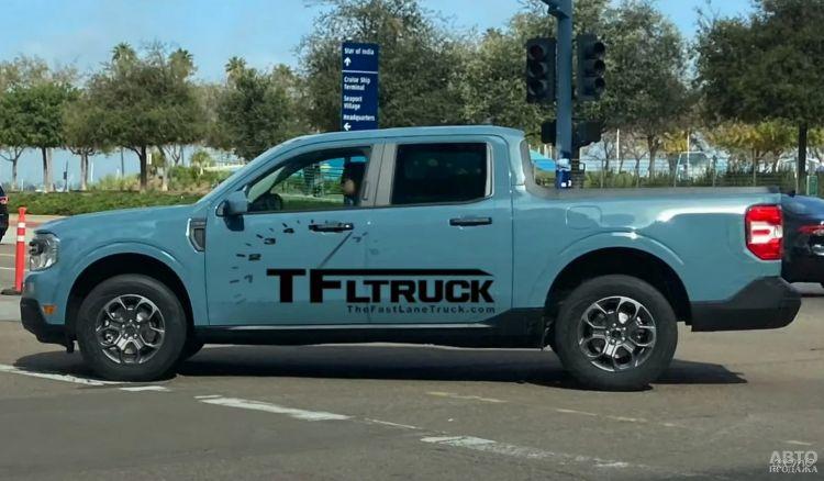 Ford готовит недорогой пикап на базе Kuga