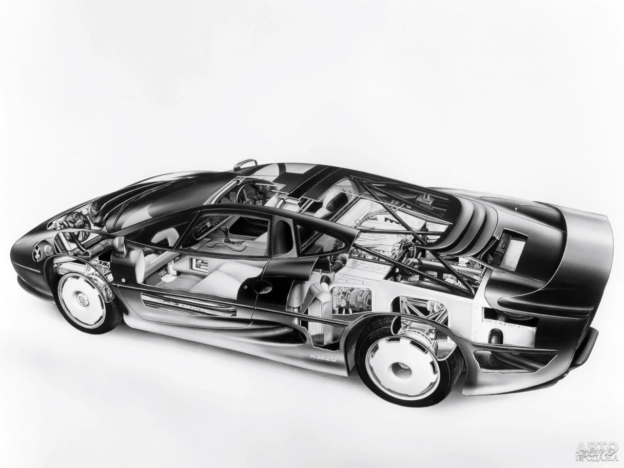 Разработчикам пришлось отказаться от V12, полного привода и управляемых задних колес