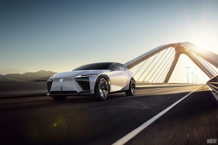 Lexus LF-Z Electrified: предвестник нового электромобиля