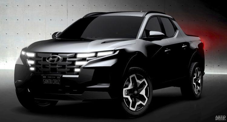 Официальные изображения первого пикапа Hyundai