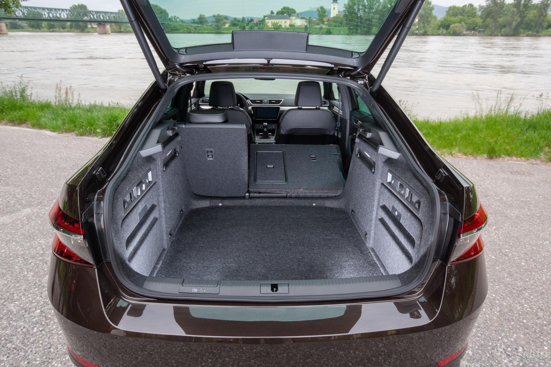Багажник Superb самый большой – 625 л