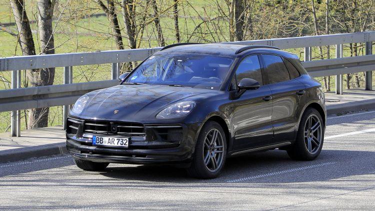 Porsche Macan снова обновят