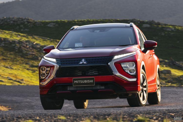 Mitsubishi Eclipse Cross: перезагрузка