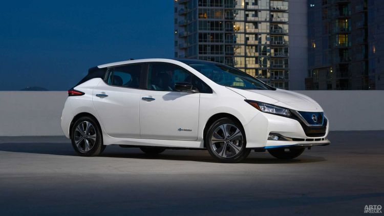 В Украине стартуют продажи Nissan Leaf
