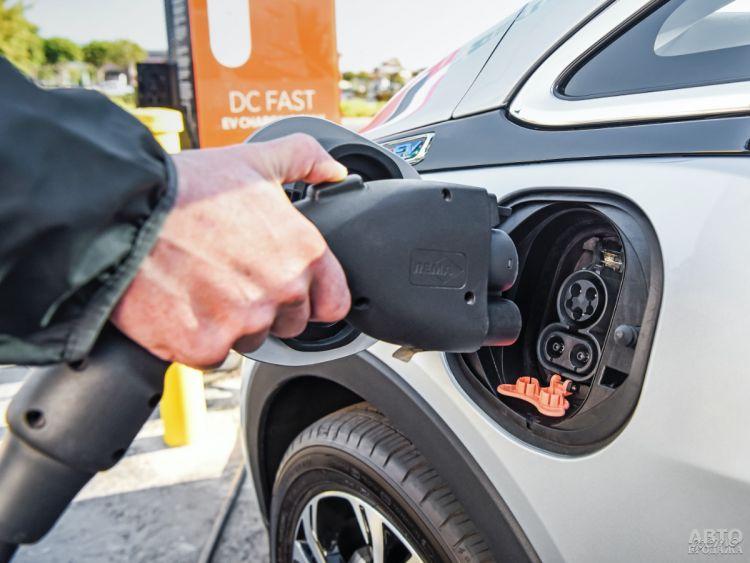Продажи электромобилей в Украине существенно выросли