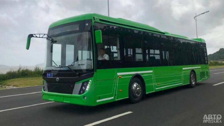 В Украине собираются выпускать электробусы