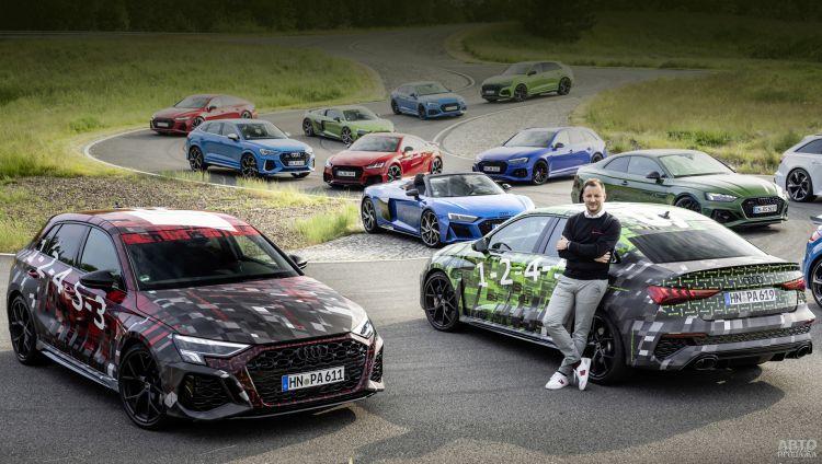 Первые фото нового Audi RS3