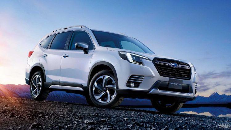 Subaru Forester прошел небольшое обновление