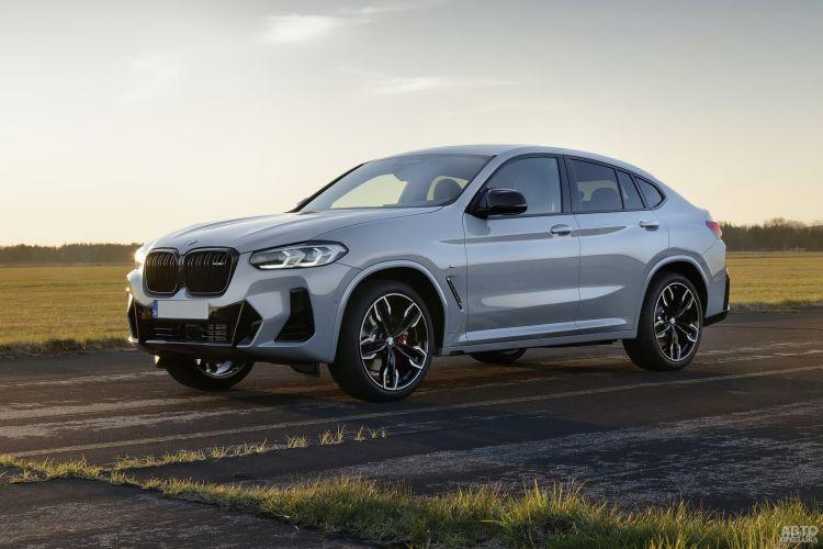BMW X3 и X4: модернизация