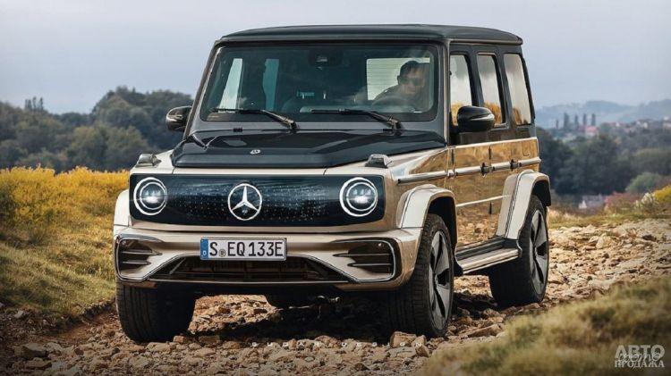 Первые изображения электромобиля Mercedes-Benz G-Class