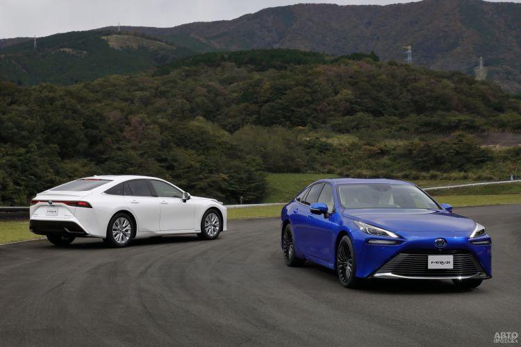 Toyota Mirai: будущее наступает сейчас