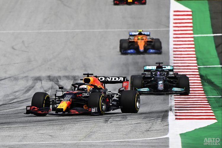 Формула-1: Ферстаппен продолжил победную серию в Австрии