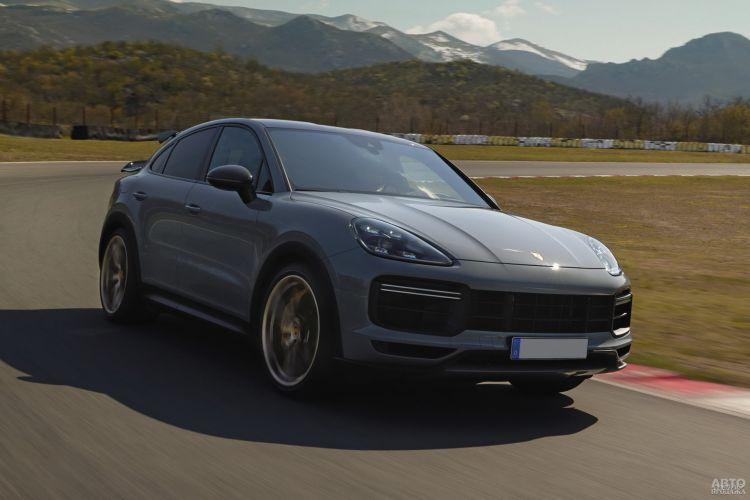 Porsche Cayenne Turbo GT: самый быстрый