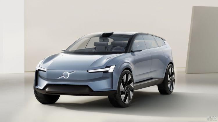 Volvo Concept Recharge: предвестник нового флагмана