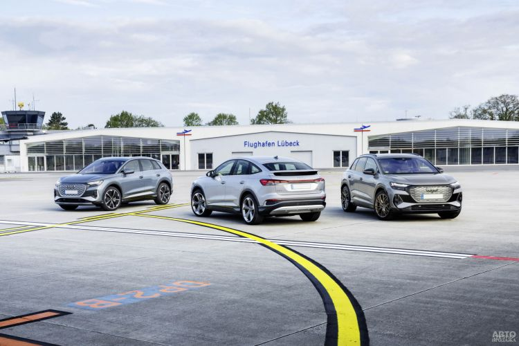 Audi Q4 e-tron: младший член «семейства»