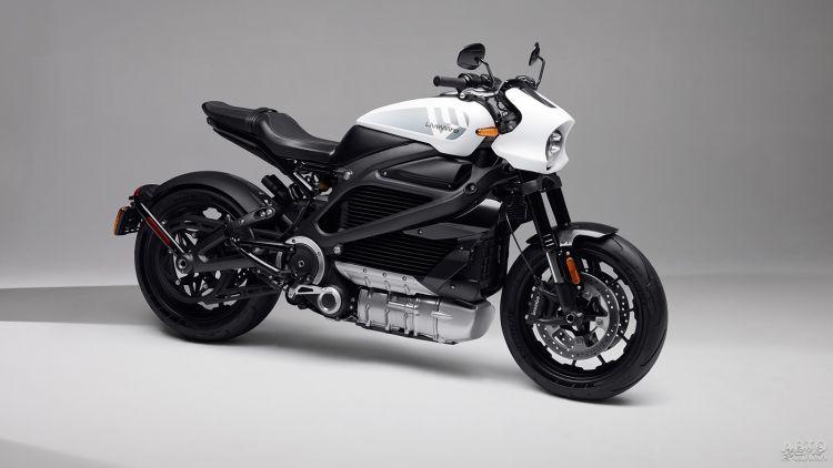 Harley-Davidson представил свой первый электромотоцикл