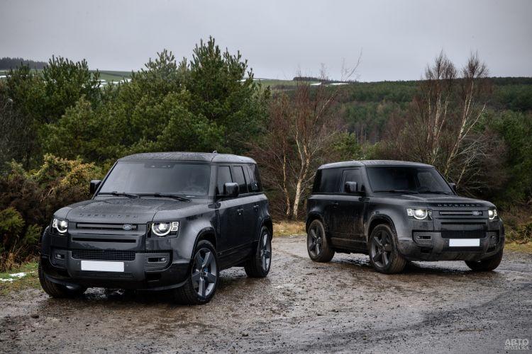 Land Rover Defender V8: мощный покоритель бездорожья