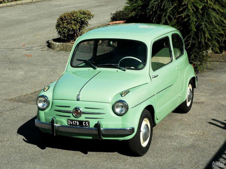 Fiat 600 дебютировал в 1955 году