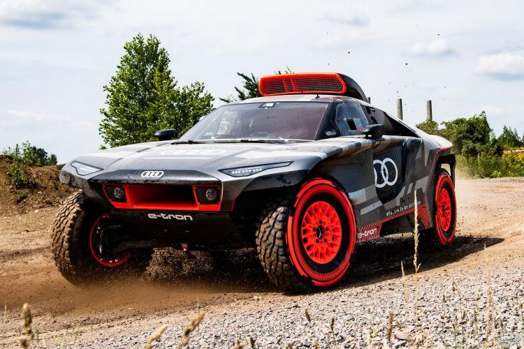 Audi RS Q e-tron: электрический спортсмен