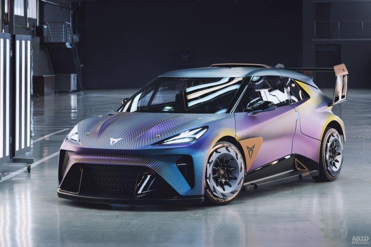 Cupra UrbanRebel: предвестник нового электромобиля