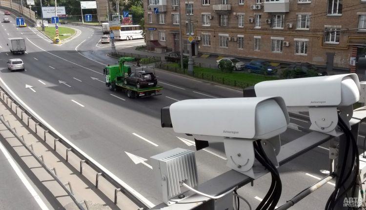 В Украине включили еще два десятка камер автофиксации
