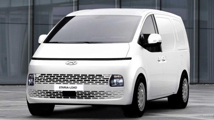 Hyundai презентовали футуристический фургон