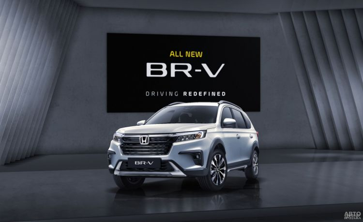 Honda представила недорогой семиместный вседорожник