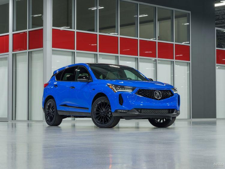 Acura RDX прошла небольшое обновление