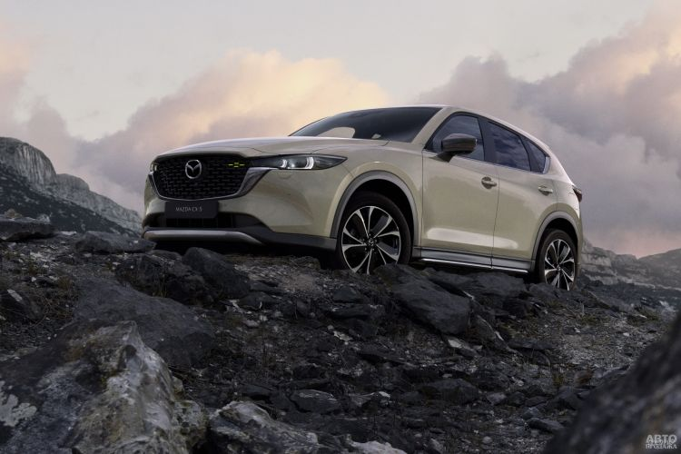 Mazda CX-5: обновление