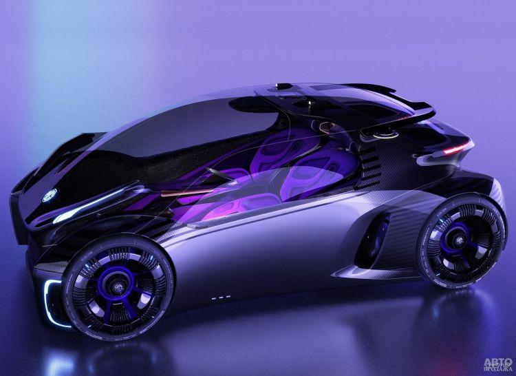 MG показали городской электромобиль будущего