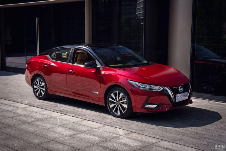 Nissan представил экономичный седан